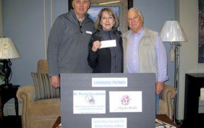 Bo Tkach Foundation donates $2,000 to Krysta Hankee Memorial Fund