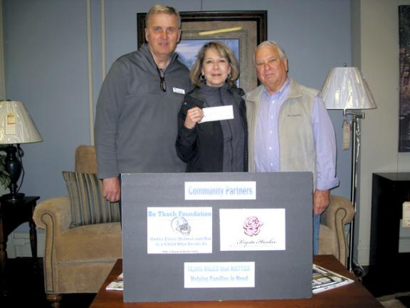 Bo Tkach Foundation donates $2,000 to Krysta Hankee Memorial Fund