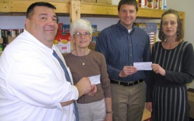 Lehighton, Jim Thorpe food pantries get $1,000 donation