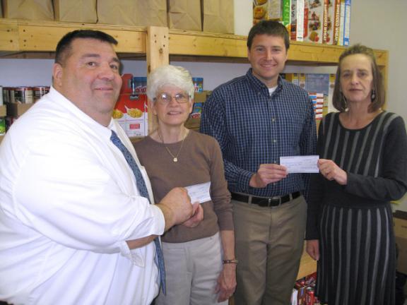 Lehighton, Jim Thorpe food pantries get $1,000 donation